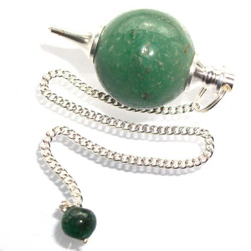 Green Aventurine Ball Dowsing Pendulum